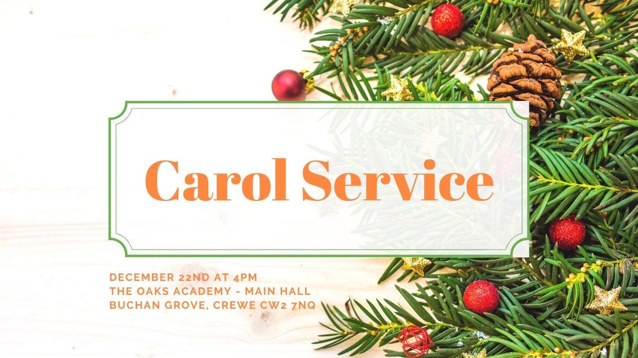 Hope Church Carol Service 2019